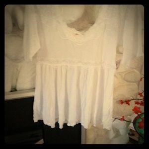 Free People babydoll top Small